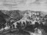 Hrad Bítov v roce 1848